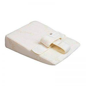 Clevamama ClevaSleep+ Cale Bébé Blanc - Coussin Transat pour Nouveau-Né et Nourrisson 0-6 Mois - Blanc de la marque Clevamama image 0 produit