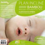 Kadolis Plan Incliné Bambou Déhoussable pour Lit Blanc de la marque Kadolis image 1 produit