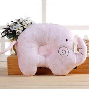 Kenmont éléphant Coussin de maintien anti-tête plate Oreiller memoire pour votre Bébé nouveau-né Cale tete bebe de la marque Kenmont image 0 produit