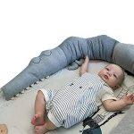 Kuuboo doux Lit Bébé Berceau Parure de lit de lit complet modulable Lovely Crocodile Big vous Irez Taie d'oreiller coton doux jouet Coussin Oreiller de couchage Jouets Animal Coton jouet Cadeau de la marque Kuuboo image 3 produit