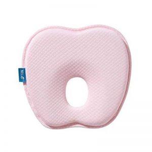 Oreiller pour bébé avec De rechange Taie d'oreiller,Coussin bébé Prévient Tête plate Syndrome, l'appui-tête contre la Plagiocéphalie (0-12 Mois) de la marque SPEEDEVE image 0 produit