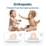 Oreiller pour bébé par Mello: En forme de coussin orthopédique pour les nourrissons et les tout-petits, prévention du Syndrome à tête plate, tissu respirant et doux, Position de tête confortable, en forme de Cœur, de l'appui-tête contre la plagiocéphalie image 1 produit