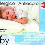 PERLARARA - Oreiller pour berceau en coton et fibre hypoallergénique, 40x 60cm, lavable de la marque PERLARARA image 4 produit