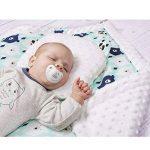 Sevira Kids - Coussin anti tête plate- oreiller morphologique bébé - Made in Europe de la marque Sevira Kids image 5 produit