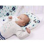 Sevira Kids - Coussin anti tête plate- oreiller morphologique bébé - Made in Europe de la marque Sevira Kids image 1 produit
