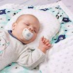 Sevira Kids - Coussin anti tête plate- oreiller morphologique bébé - Made in Europe de la marque Sevira Kids image 2 produit