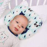 Sevira Kids - Coussin anti tête plate- oreiller morphologique bébé - Made in Europe de la marque Sevira Kids image 4 produit