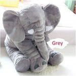 YQ CLZ-Doudou Peluche Nez Long Éléphant Poupée Coussin Douce Jouet Lombaire Animal Mignon Elephant Oreiller pour Bébés Enfants de la marque YQ image 1 produit