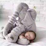 YQ CLZ-Doudou Peluche Nez Long Éléphant Poupée Coussin Douce Jouet Lombaire Animal Mignon Elephant Oreiller pour Bébés Enfants de la marque YQ image 3 produit